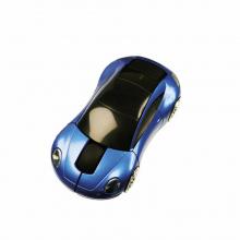 Bedrukte muis in de vorm van een auto